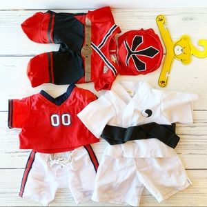 Build-A-Bear Three Outfits